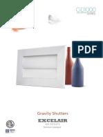 Gravity Shutters