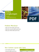 Etika Lingkungan Presentasi