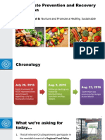Food Waste Prevention and Recovery