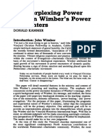 The Perplexing Power Of John Wimber's Power Encounters