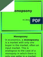 Monopsony Lesson 6