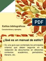 Estilos bibliográficos