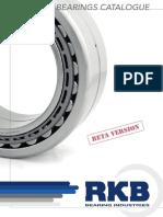 RKB Bearings Catalogue Light Beta