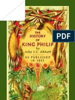 The History of King Philip, Sovereign Chief of the Wampanoags Sample
