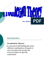 Production Theory1a