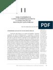 WEB-CONFERÊNCIA CURSO DE APERFEIÇOAMENTO E CAPACITAÇÃO EM EDUCAÇÃO QUILOMBOLA