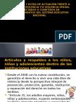 Protocolo y Rutas de Actuación Frente a Hechos de violencia