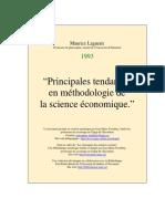 Principales_tendances en Methodologie de La Science Economique