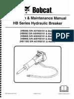 Operation & Maintenance Manual HB Series Hydraulic Breaker