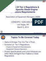 Conexpo 2014 Ppt Aem