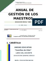 Manual de Gestión de Los Maestros 2013-2014