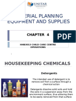 Chapter 4.Material Planning and Supplies