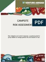 Campsite Risk Assessment Handbook