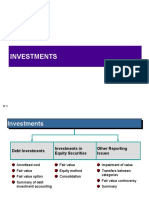Investments - Updated