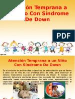 Atención Temprana a Un Niño Con Síndrome De