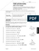Geometry Study Guide Lesson 5 - 3