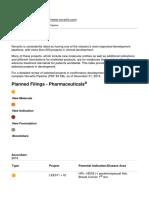 Novartis Clinical Pipeline