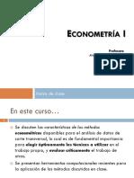 Alexacor_1. Introducción Econometría I