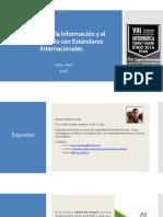 Seguridad de la Información y el Cumplimiento con Estándares Internacionales