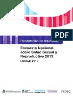 Encuesta Nacional Salud Sexual y Reproductiva_2013