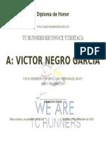Diploma Honor Formato Carta Victor