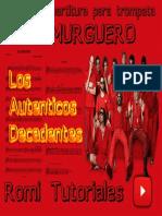 Partitura El Murguero Los Autenticos Decadentes.pdf