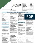 Boletin Oficial 04-06-10 - Tercera Seccion