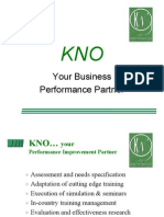 KNO - Your Performance Partner