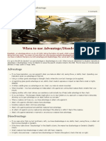 D&D 5E – Advantage - Disadvantage