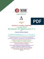 Matemática, Álgebra y Geometría - Agosto 2016