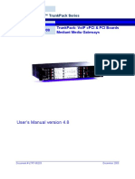 Mediant 3000 User's Manual Ver 4.8