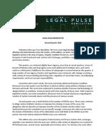 Legal Pulse 2Q 2016