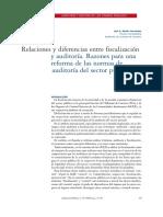 Diferencia Fiscalizacion y Auditoria Social