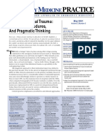 Blunt Abdominal Trauma Priorities, Procedures, And Pragmatic Thinking