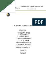 Actividad Integradora Etapa 3 Esp 1