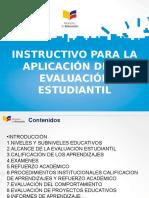 2 Instructivo Para La Aplicación de La Evaluación Estudiantil (1)