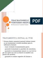 Traumatismele Vertebro-medulare Studenti 2015