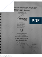 Manual Timeter