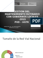Exposicion Mantenimiento Vial Rutinario-2015