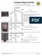 Peoria County Jail Booking Sheet for Oct. 3, 2016