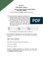 Taller N°5 TERMOQUIMICA II (1)