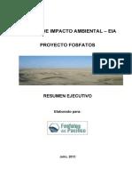 Estudio de Impacto Ambiental - Eia Proyecto Fosfatos