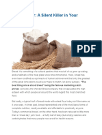 Wheat Flour-A Silent Killer in Your Food