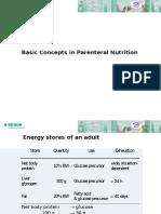 Parenteral Nutrition Shortest