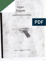 Luger P08 Blueprints