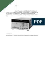 Analizador de Impedancias