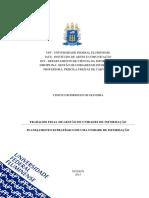 Trabalho Final - Gestão de Unidades de Informação (Vinicius Oliveira)