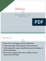 Evaluation of Pleural Effusions