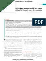 Preoperative Prognostic Value of MRI Findings in 108