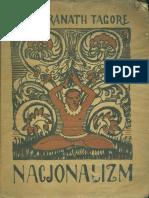 Tagore, Rabindranath - Nacjonalizm